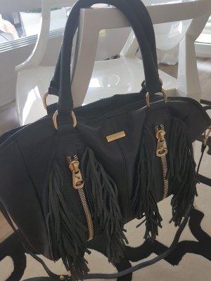 Ledertasche Handtasche Venezia schwarz