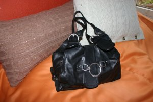 Coccinelle Frame Bag black leather