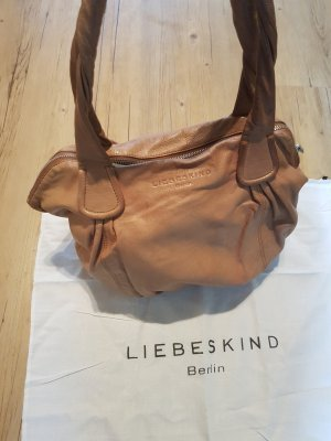 Liebeskind Sac Baril beige-marron clair