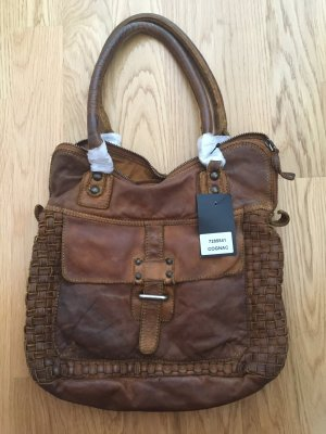 Conleys Carry Bag cognac-coloured