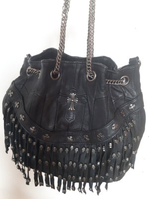 Ledertasche in Rocker-Stil
