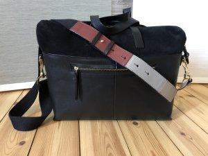 Kiomi Briefcase multicolored leather