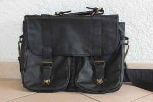 Ledertasche, Messenger Bag, Umhängetasche, H.E. by Mango