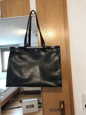Zara Borsa shopper nero-argento