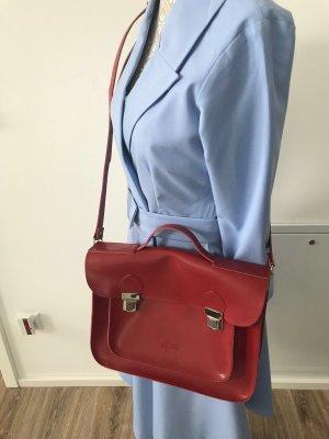 Ledertasche - Tasche von Lacoste - rot