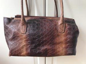 Tosca blu Handbag brown-cognac-coloured