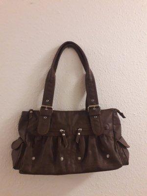 Ledertasche von 5th Avenue Braun Tasche
