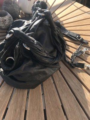 Belmondo Sac à main noir-gris anthracite