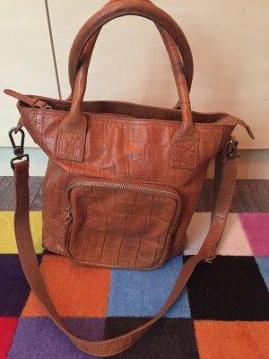 Cowboysbag Shopper cognac-coloured