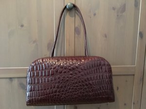 René Lezard Shoulder Bag dark brown