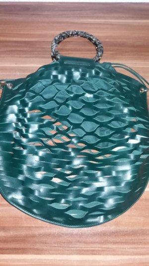 Ledertasche von Zara in grün