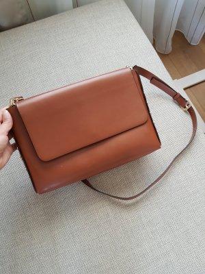 Zara Sac brun cuir