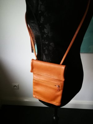 Mini Bag light brown leather