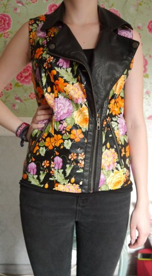Only Leather Vest multicolored imitation leather