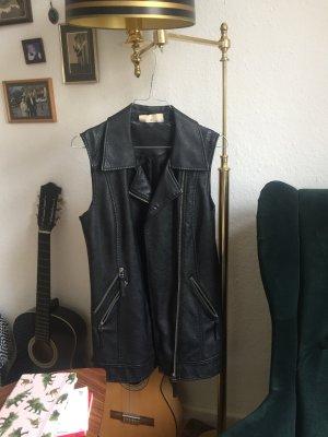 Noisy May Bikerjack zwart-zilver