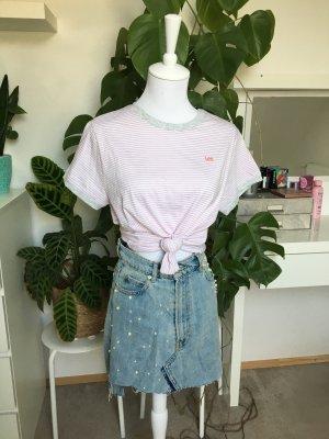Lee Oversized Shirt light grey-pink