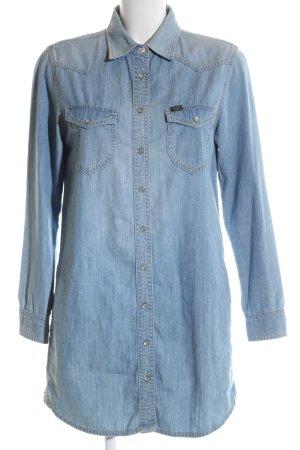 Lee Blusenkleid blau Casual-Look