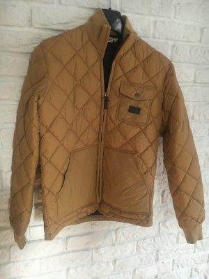 Bomber Jacket sand brown cotton