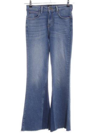 Lee Boot Cut Jeans blassblau-dunkelblau Jeans-Optik