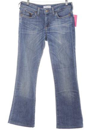 Lee Boot Cut Jeans blau Casual-Look