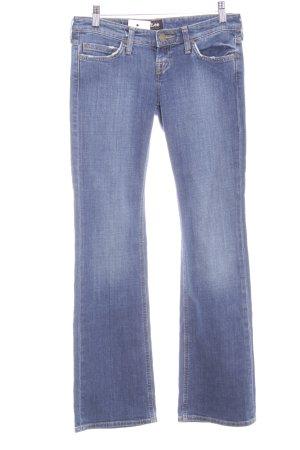 Lee Boot Cut Jeans blau Street-Fashion-Look