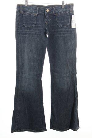 Lee Boot Cut Jeans dunkelblau-wollweiß Urban-Look