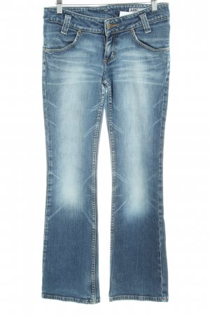 Lee Boot Cut Jeans graublau Casual-Look
