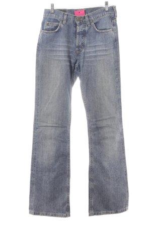 Lee Boot Cut Jeans graublau Casual-Look