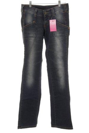 Lee Boot Cut Jeans graublau Jeans-Optik