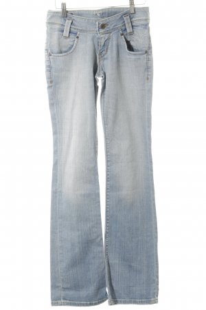 Lee Boot Cut Jeans himmelblau-wollweiß Bleached-Optik