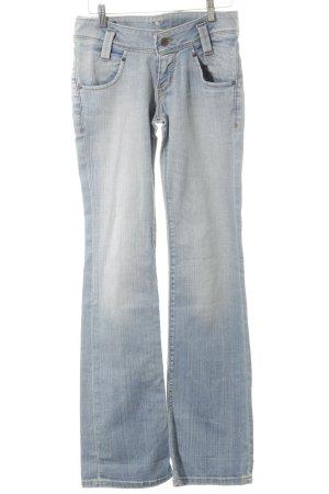 Lee Boot Cut Jeans himmelblau-wollweiß Bleached-Optik