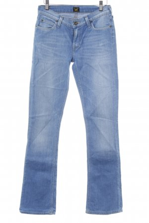 Lee Boot Cut Jeans kornblumenblau Vintage-Look
