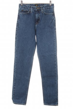 Lee Boyfriendjeans stahlblau Casual-Look