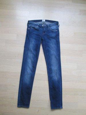 Lee Damen Jeans LYNN SKINNY BLUE FAVOURITE Skinny / Slim