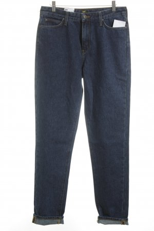 Lee High-Waist Hose dunkelblau Casual-Look
