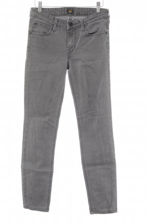 Lee High Waist Jeans grau Casual-Look
