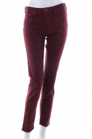 Lee High Waist Jeans karminrot-schwarz