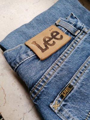 Lee High Waist / Straight Leg / Mom Jeans