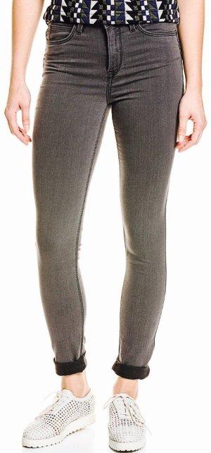 Lee highwaist Jeans grau W26 L33 neu slim fit