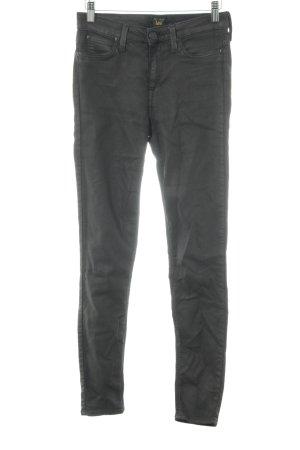 Lee Pantalon taille basse gris brun style décontracté