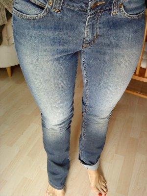 Lee Jeans 30/33 blau Waschung