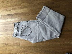 Lee Jeans Creme Farben mit dunklen Nähten (Größe in Beschreibung)