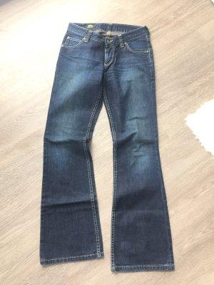 Lee Boot Cut spijkerbroek donkerblauw