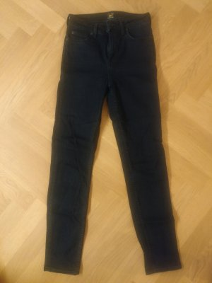 Lee High Waist Jeans dark blue