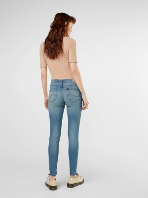 "Lee Jeans ""Scarlett High"" - Skinny fit - in Hellblau - W28 L33"