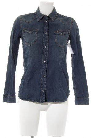 Lee Jeansbluse dunkelblau Casual-Look