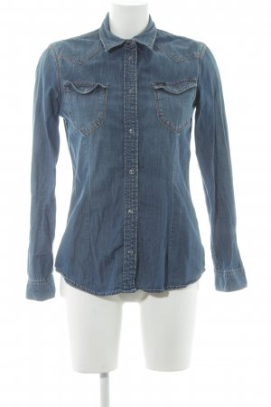 Lee Jeanshemd blau Casual-Look