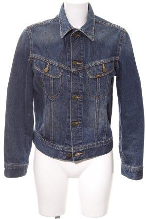 Lee Jeansjacke dunkelblau Jeans-Optik