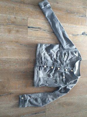 LEE Jeansjacke grau Größe M
