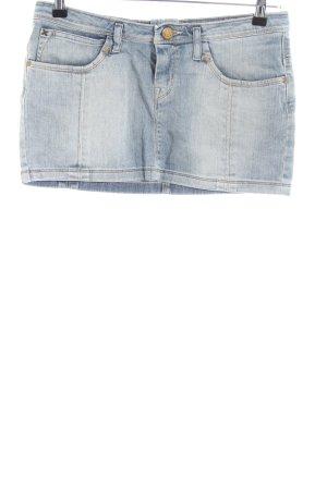 Lee Jeansrock blau Street-Fashion-Look